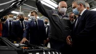 Macron bertrand