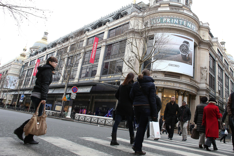 Le Printemps à Paris.