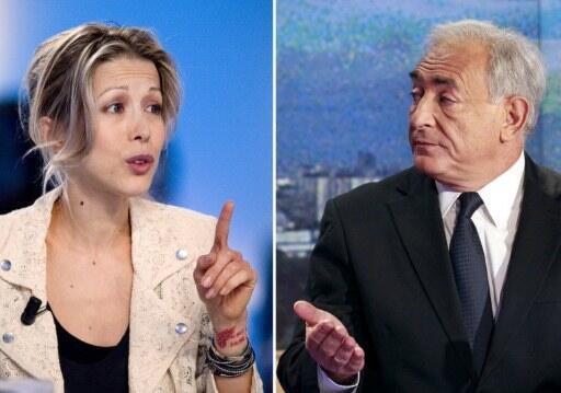 Tristane Banon and Dominique Strauss-Kahn