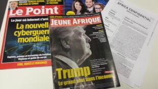 Capas de magazines news franceses de 28 de janeiro de 2017