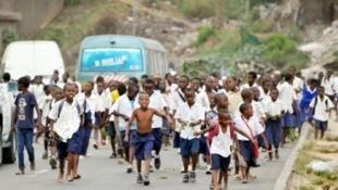 Wanafunzi waandamana nchini Tanzania baada ya waalimu kugoma