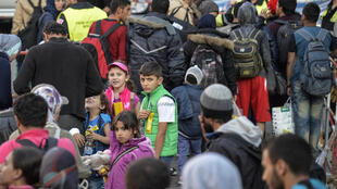 Мигранты в Мюнхене