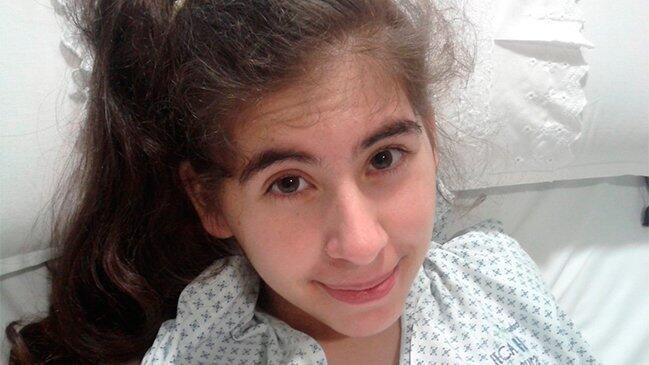 Paula Díaz Ahumada en una foto publicada por su familia en las redes sociales.