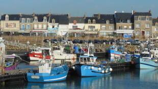 Le port de La Turballe, en Loire Atlantique.