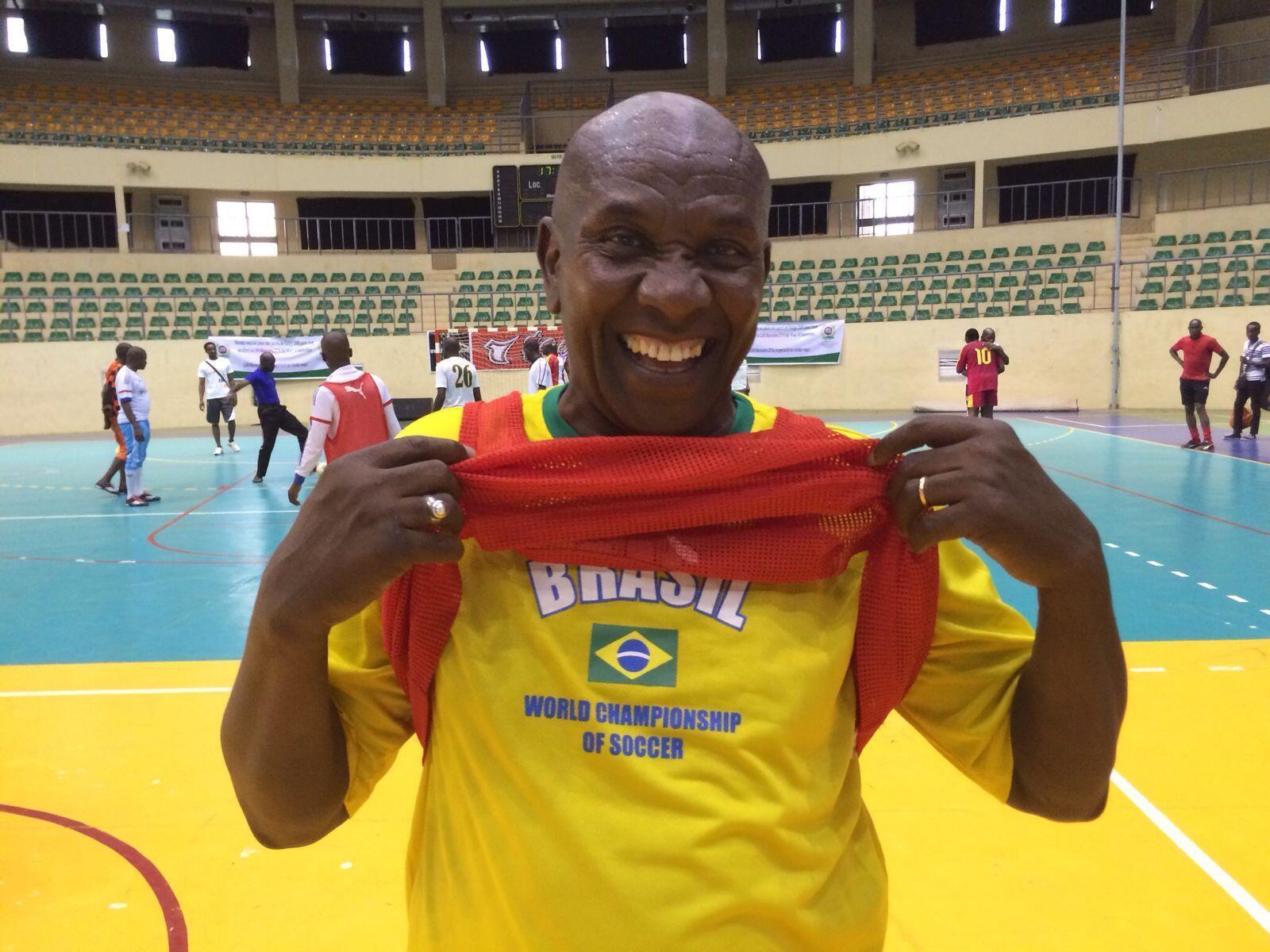 Mamadou Dipa Fané, vice-presidente da Federação Internacional de Futebol Maracana.