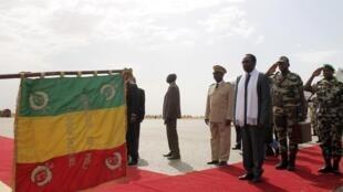 Dioncounda Traoré, président par intérim du Mali, à Mopti le 4 mai 2013.