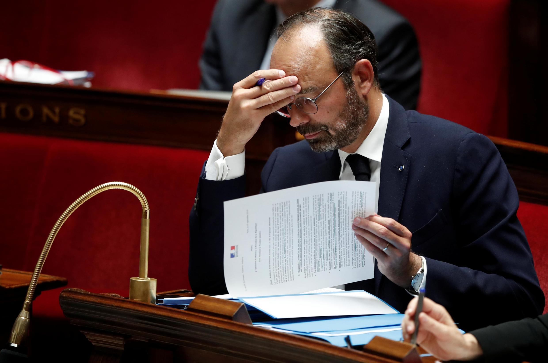 Édouard Philippe à l'Assemblée nationale le 7 octobre 2019.