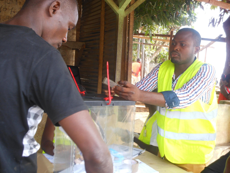 Operações da votação em São Tomé, 17 de Julho de 2016