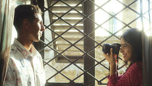 Hafsia Herzi dans «L'amour des hommes», le nouveau film de Mahdi Ben Attia.