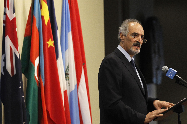 Đại sứ Syria tại Liên Hiệp Quốc, Bashar Jaafari. Ảnh ngày 12/09/2013
