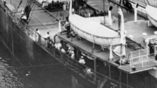 El SS Ancon fue el primer barco que atravesó  el Canal de Panamá, el 15 de agosto de 1914.