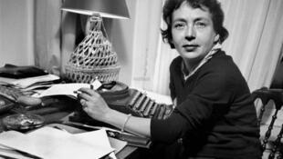 Marguerite Duras, en 1969.