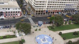 Dakar. Place de l'Indépendance.