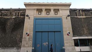 Prison de la Santé à Paris.