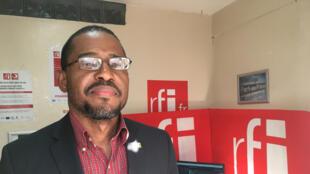 Frantz Carly, directeur général de la Direction Nationale du Livre.