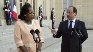 La présidente par intérim Catherine Samba-Panza, doit être au coeur d'une rencontre en marge du sommet, au sujet de la Centrafrique.