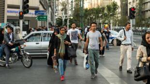 Une partie de la population iranienne se sent largement déconnectée des festivités.