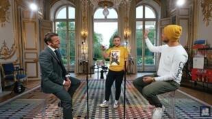 Macron en McFly et Carlito3