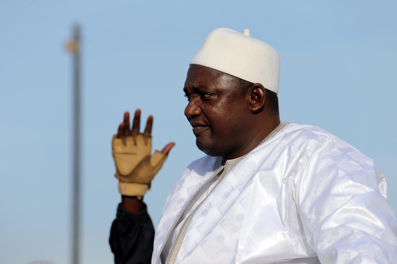 Rais wa Gambia Adama Barrow.