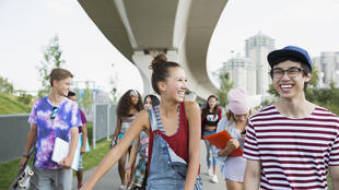 Un adolescent français sur deux a confiance en l'avenir, selon l'étude de l'Inserm.