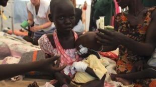 Likitocin MSF suna kula da lafiyar Mutanen Sudan ta kudu