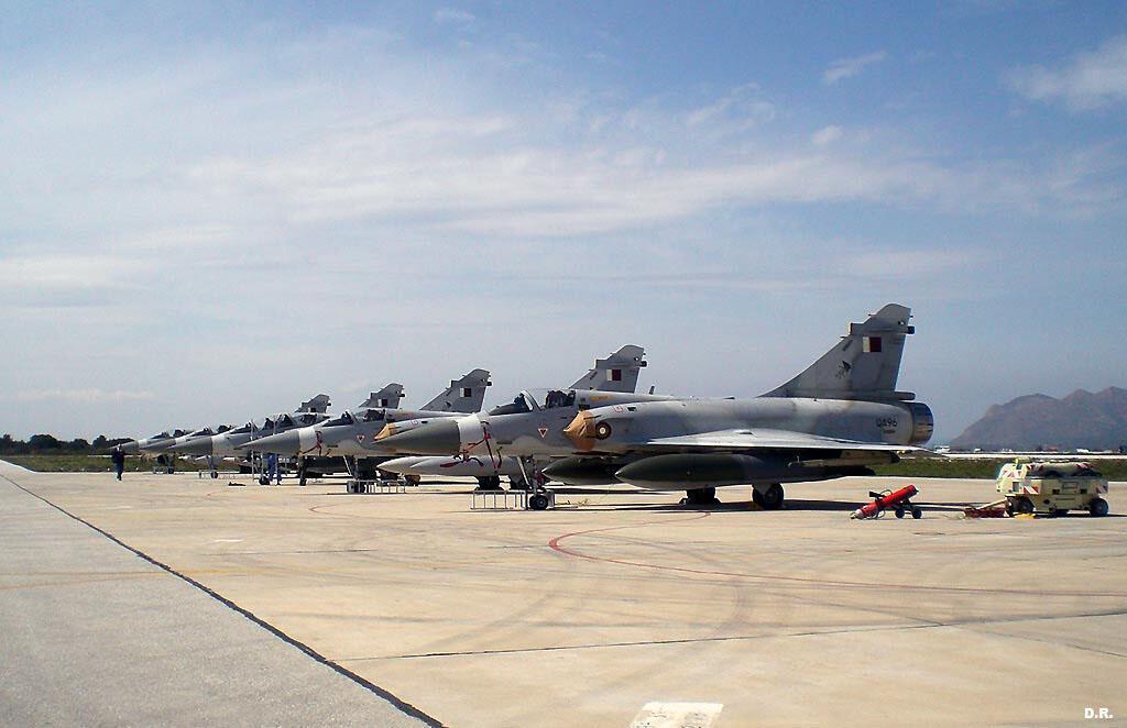 Les avions de chasse de l'Otan ont sillonné le ciel de la capitale libyenne ce  samedi 23 avril 2011.