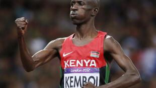 Ezekiel Kemboi, nahodha wa timu ya Riadha ya Kenya