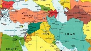Carte Iran-Irak