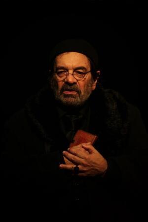 """Michel Papineschi en el rol de """"Shylock""""."""