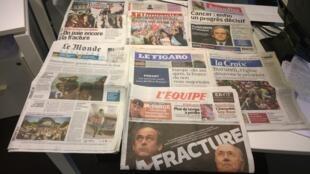 Diários franceses 29/05/2015