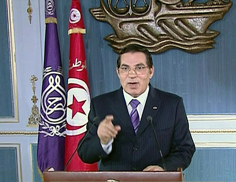 លោកប្រធានាធិបតីទុយនីស៊ី អស់អាណត្តិ បិន អាលី (Ben Ali)