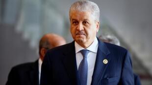 L'ancien Premier ministre algérien Abdelmalek Sellal est un proche du président déchu Abdelaziz Bouteflika.