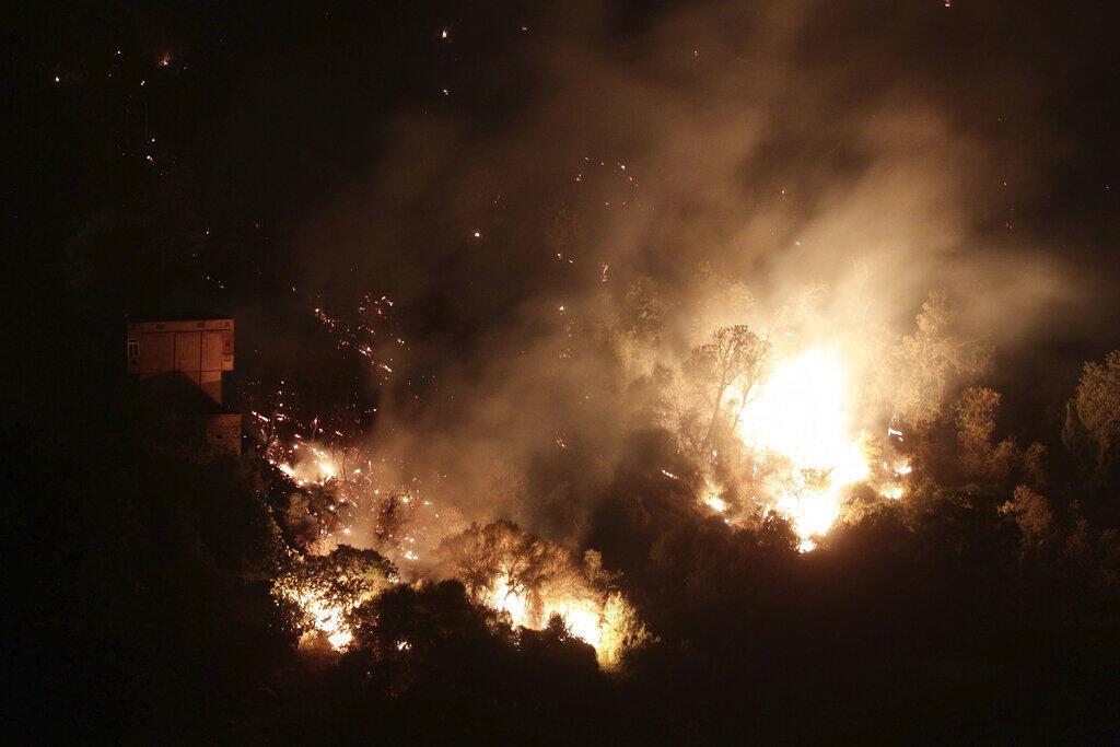 Argelia incêndio