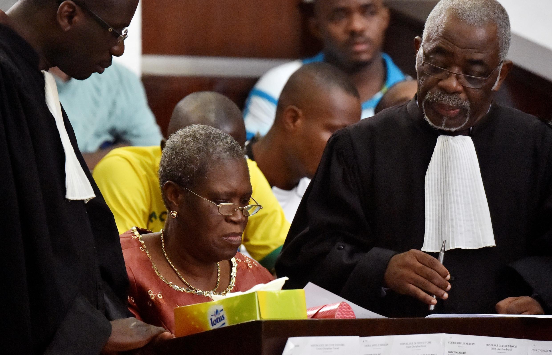Simone Gbagbo Matar tsohon shugaban Cote d'Ivoire Laurent Gbagbo