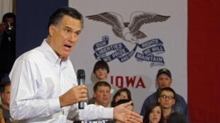 L'ancien gouverneur du Massachusetts, Mitt Romney est donné favori des sondages.