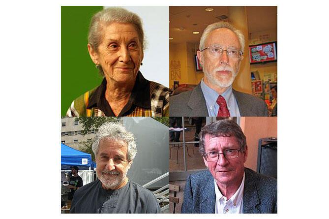Gordimer, Coetzee, Breytenbach, Brink (Wikipedia).