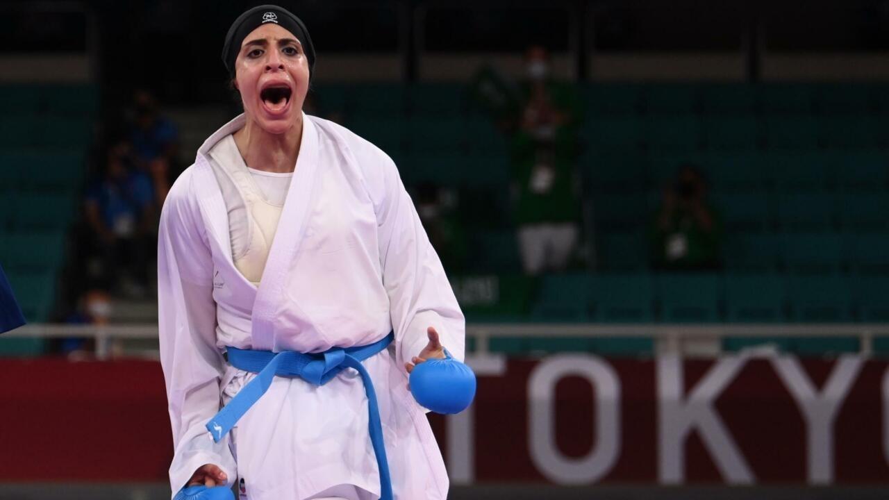 Tokyo 2021-Karaté: Feryal Abdelaziz première femme égyptienne médaillée d'or