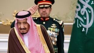ملک سلمان پادشاه عربستان.