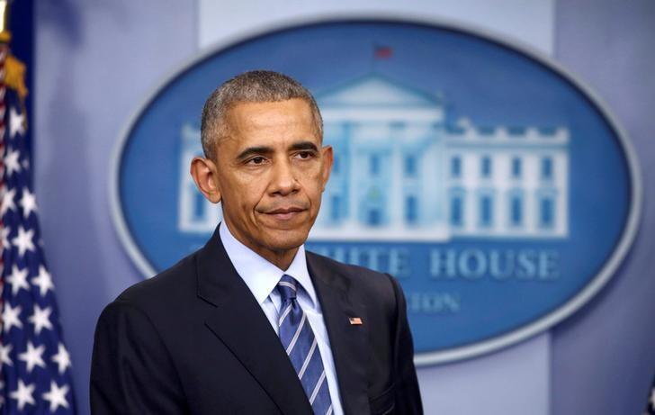 Tổng thống Mỹ Barack Obama trong cuộc họp cuối cùng tại Nhà Trắng ngày 16/12/2016.