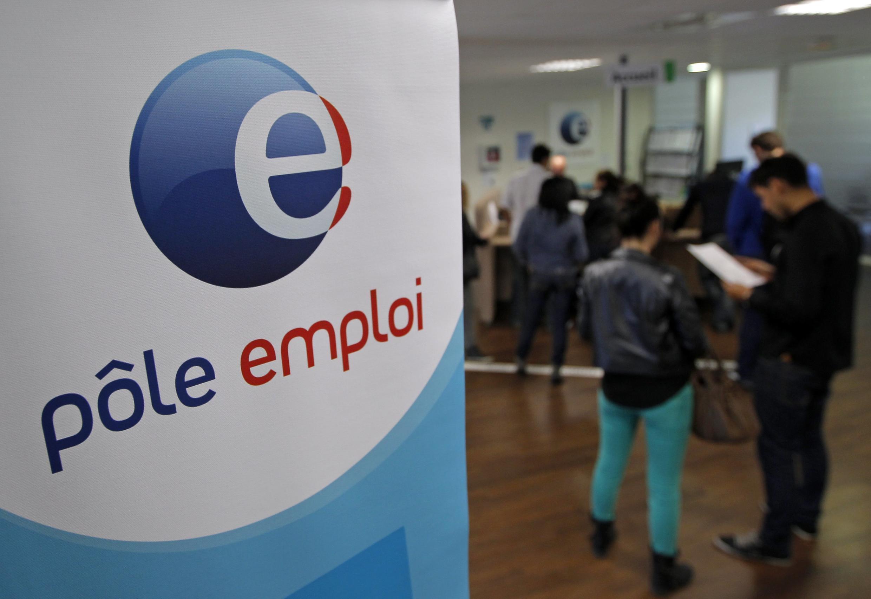 Очередь на бирже труда в Марселе