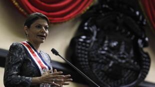 Laura Chinchilla, presidenta de Costa Rica.
