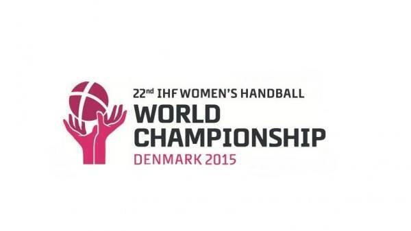 Logo do Campeonato Mundial de Andebol Feminino 2015