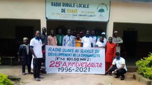 25e anniversaire de Radio Ouaké _ Club Rfi 5 juin 2021