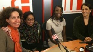 Emmanuelle Bastide, Vaiju Naravane, Anaïs Agbo et Deborah Berlinck.