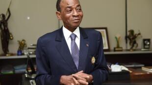 Charles Diby Koffi le 3 avril 2019 à Abidjan.