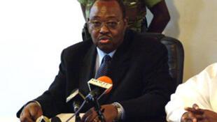 Le secrétaire général de la présidence tchadienne Haroun Kabadi, en 2007.