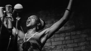 La chanteuse sud-africaine Miriam Makeba à New York en 1961. Décédée en 2008, elle est mise à l'honneur pour cette 4e édition du Festival Afropolitan à Bruxelles.