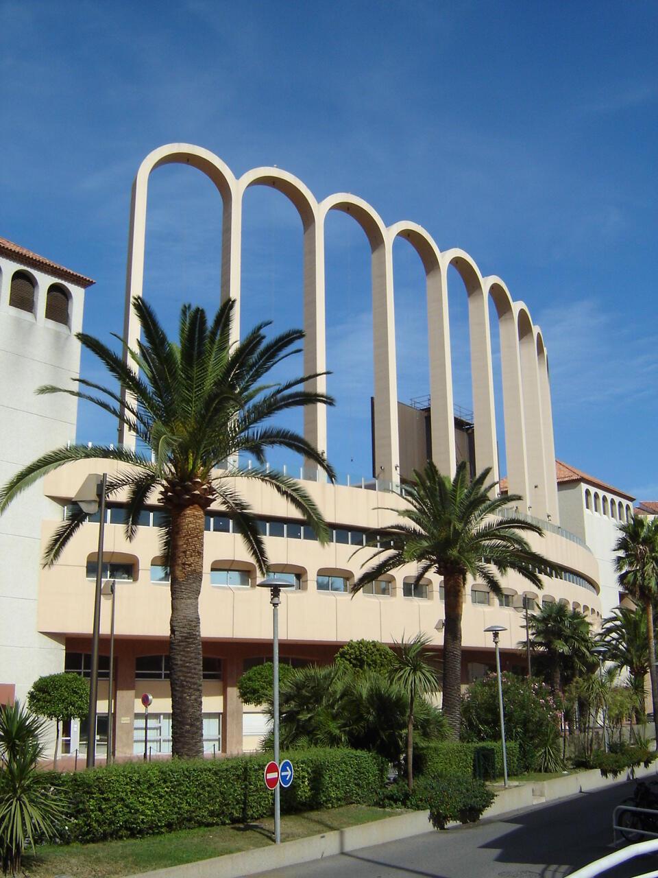 Le stade Louis II, à Monaco