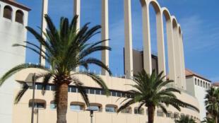Le stade Louis II, à Monaco.