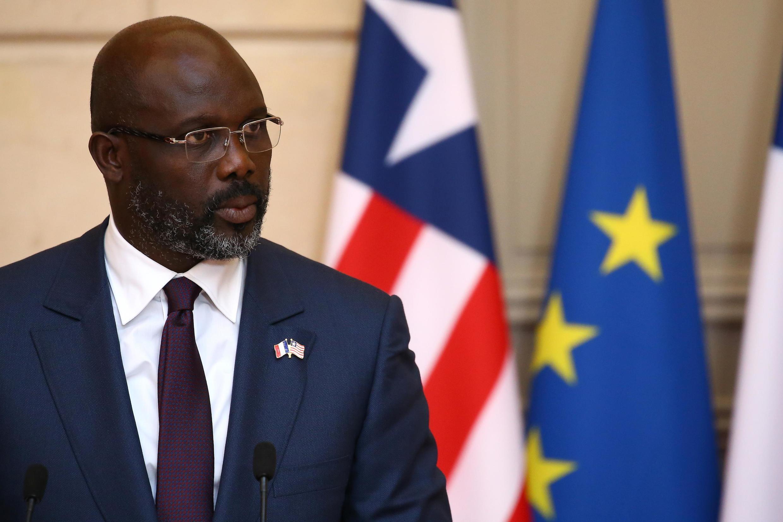 George Weah alichaguliwa kuwa rais wa liberia mapema mwaka huu